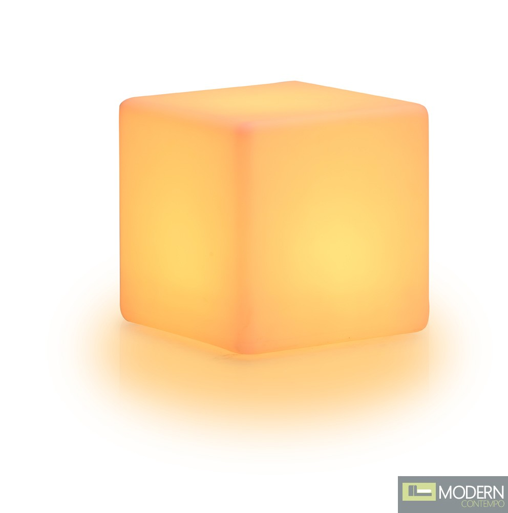 Cube Stool - Multi-color Chaning LED