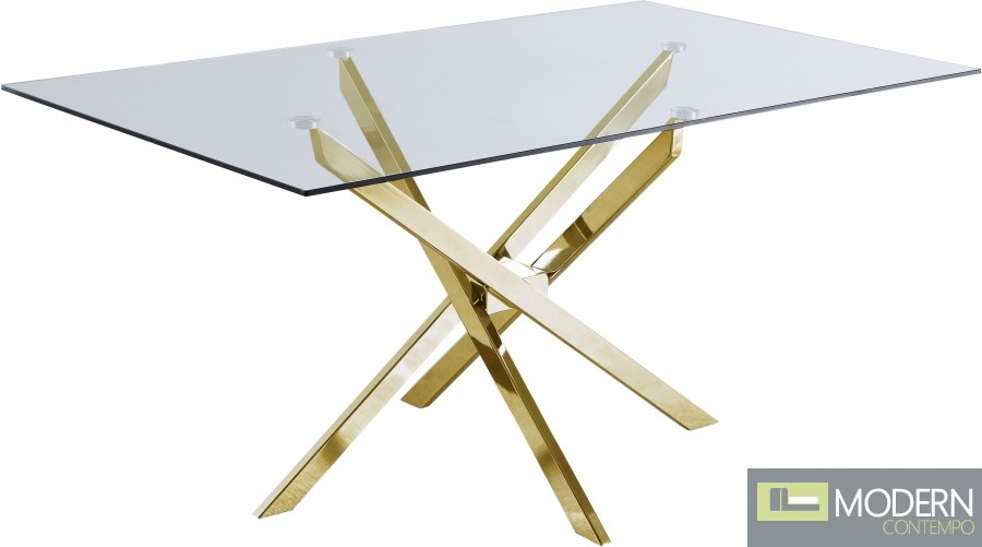 So Fancy Gold Dining table
