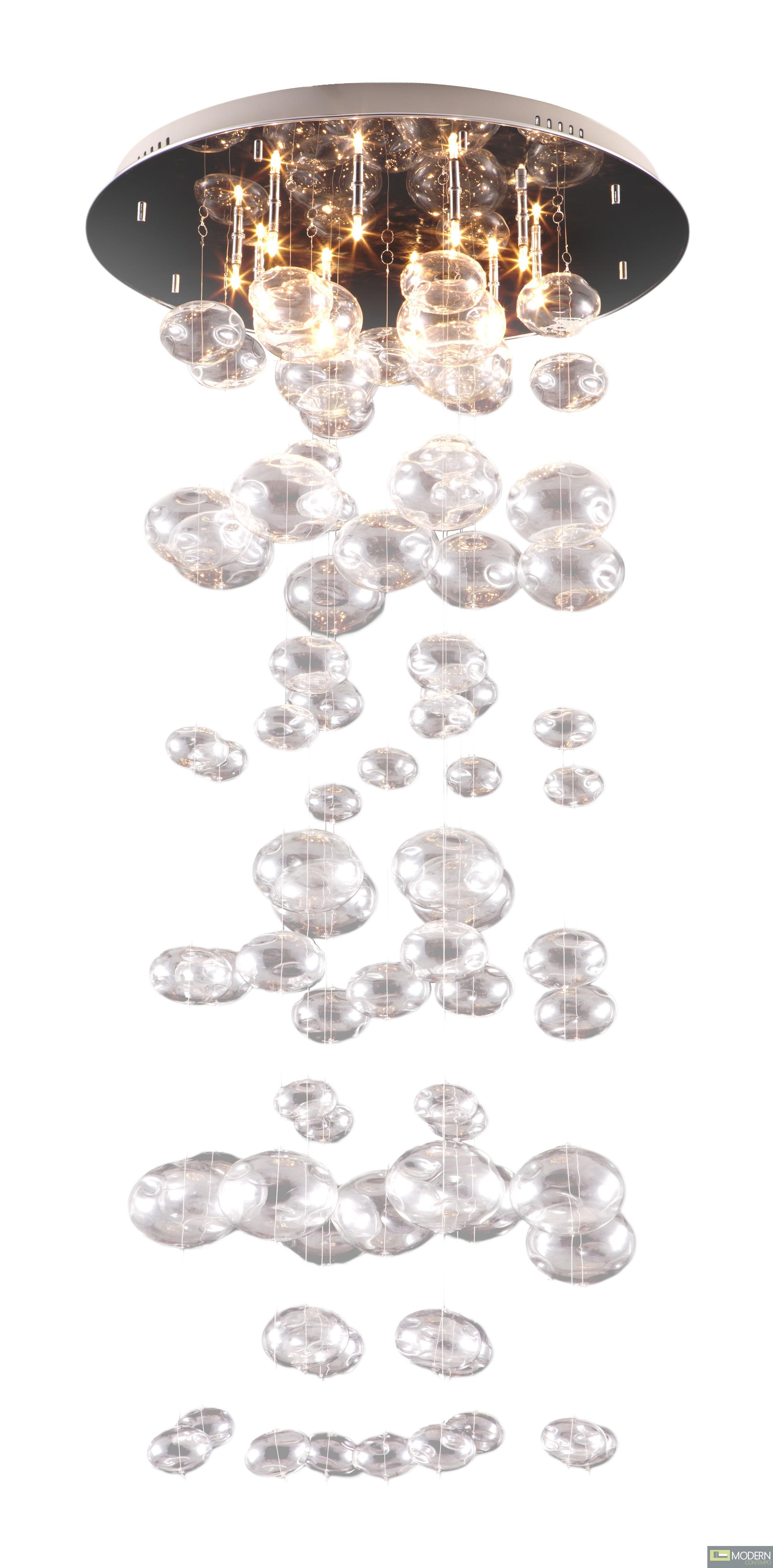 Inertia Ceiling Lamp Clear