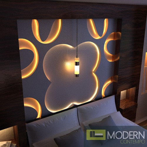 TEXTURED SURFACE CUSTOM 3D WALL SURFACE  PANEL-Headboard1