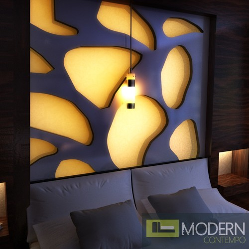 TEXTURED SURFACE CUSTOM 3D WALL SURFACE  PANEL-Headboard2