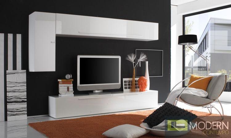 Modern Italian TV Wall Entertainment Unit MCPRM E