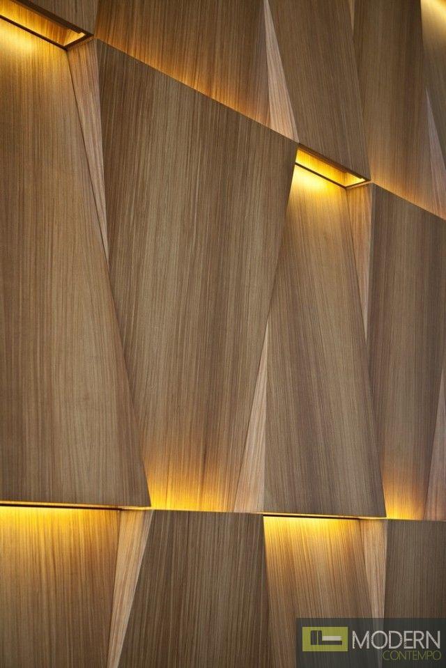 TexturedSurface 3d wall panel TSG221-LED