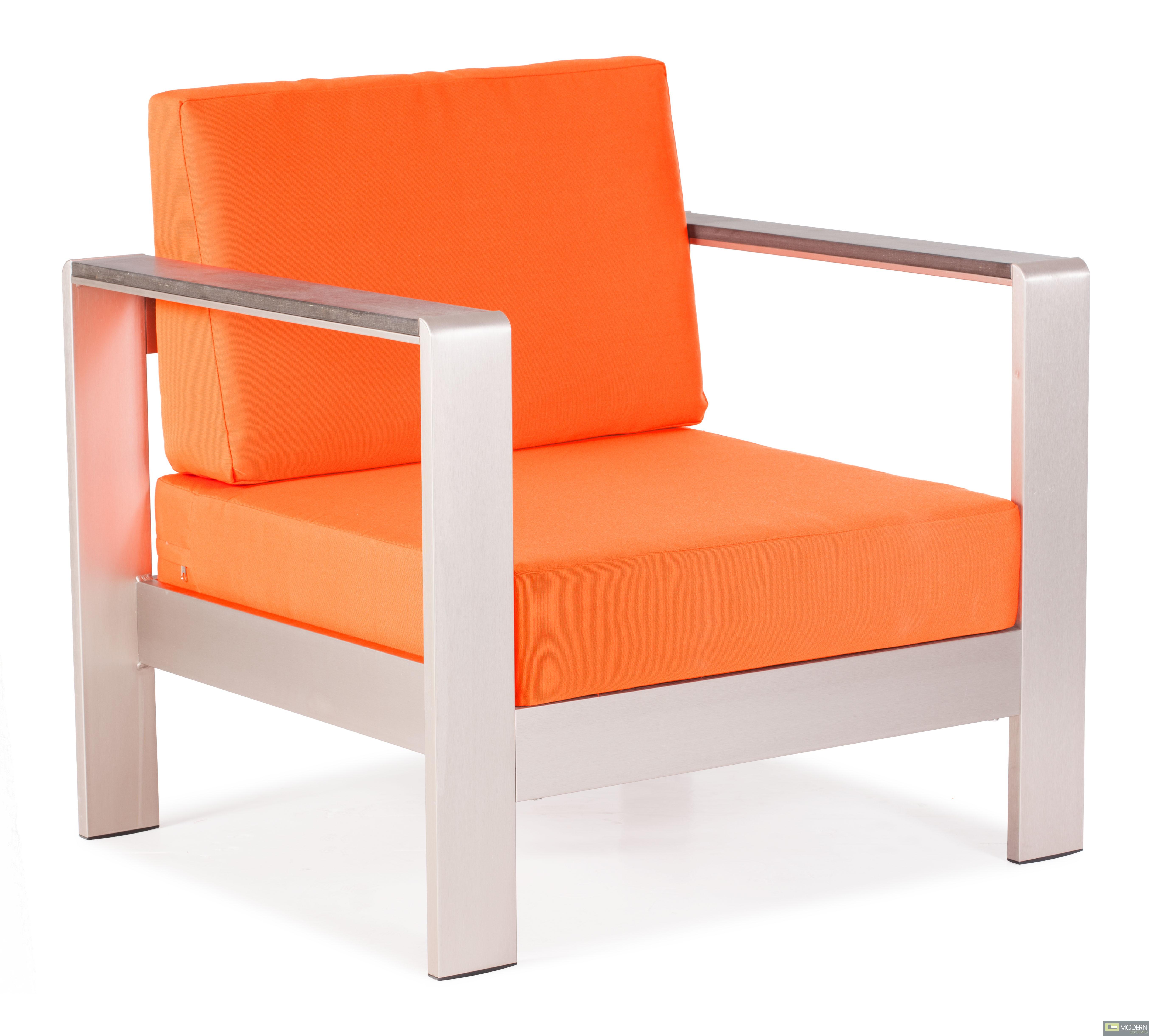 Cosmopolitan Armchair Cushions Orange