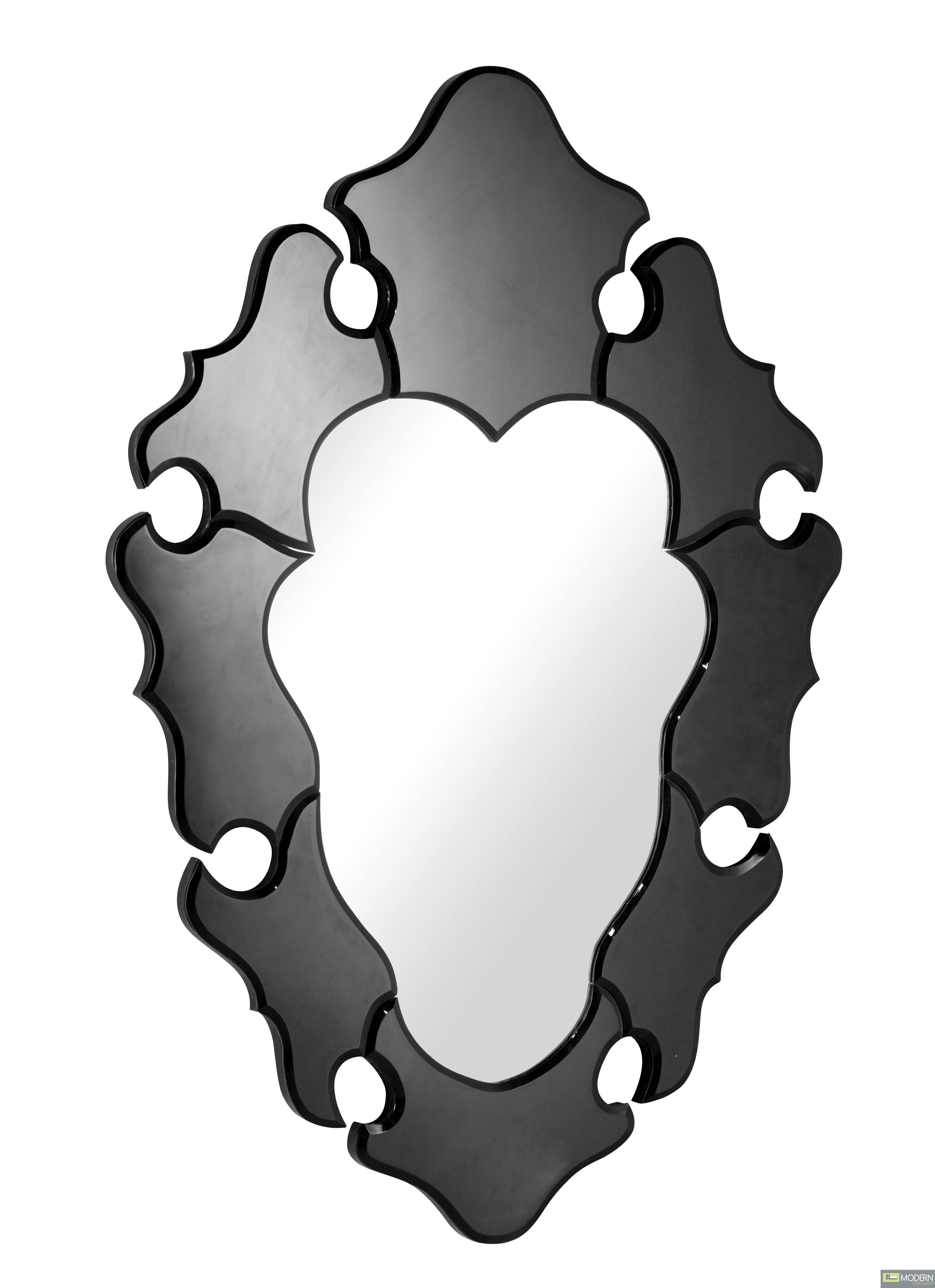 Lois Mirror Black