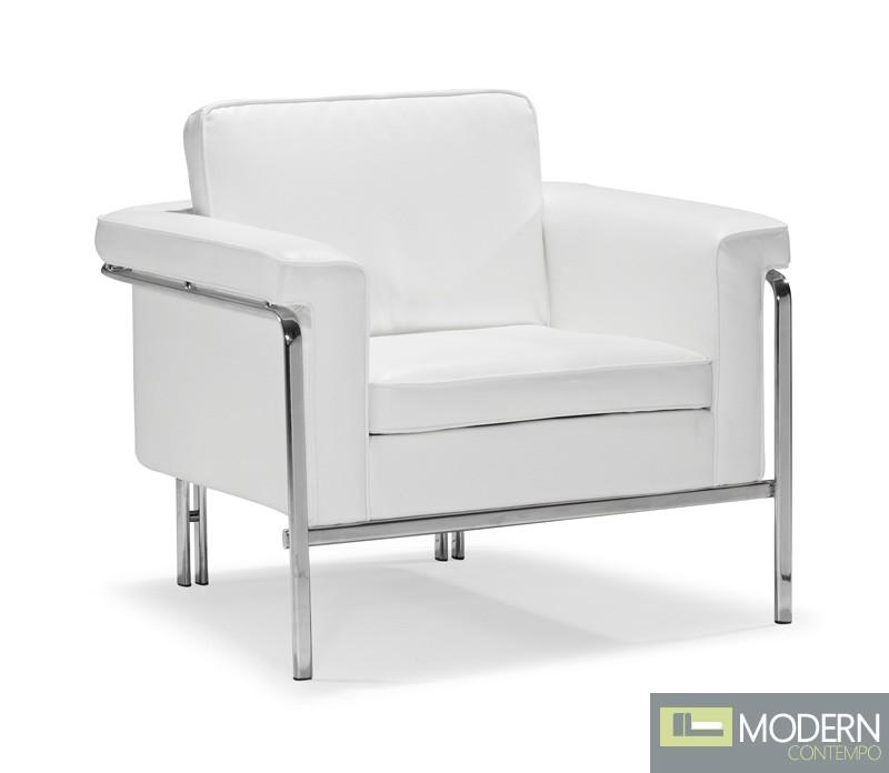 Singular Arm Chair White