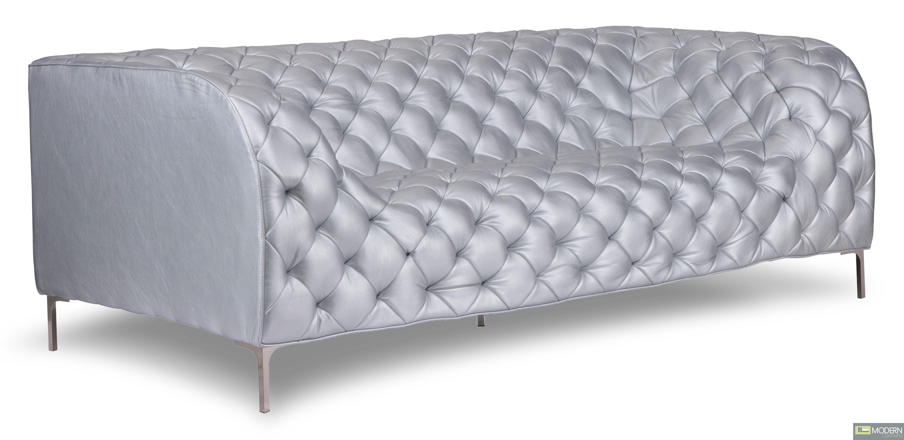 Providence Sofa Silver