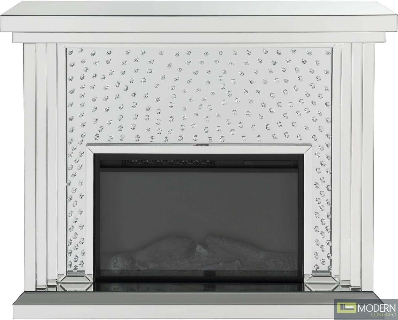 ARIADNE Mirrored Fireplace