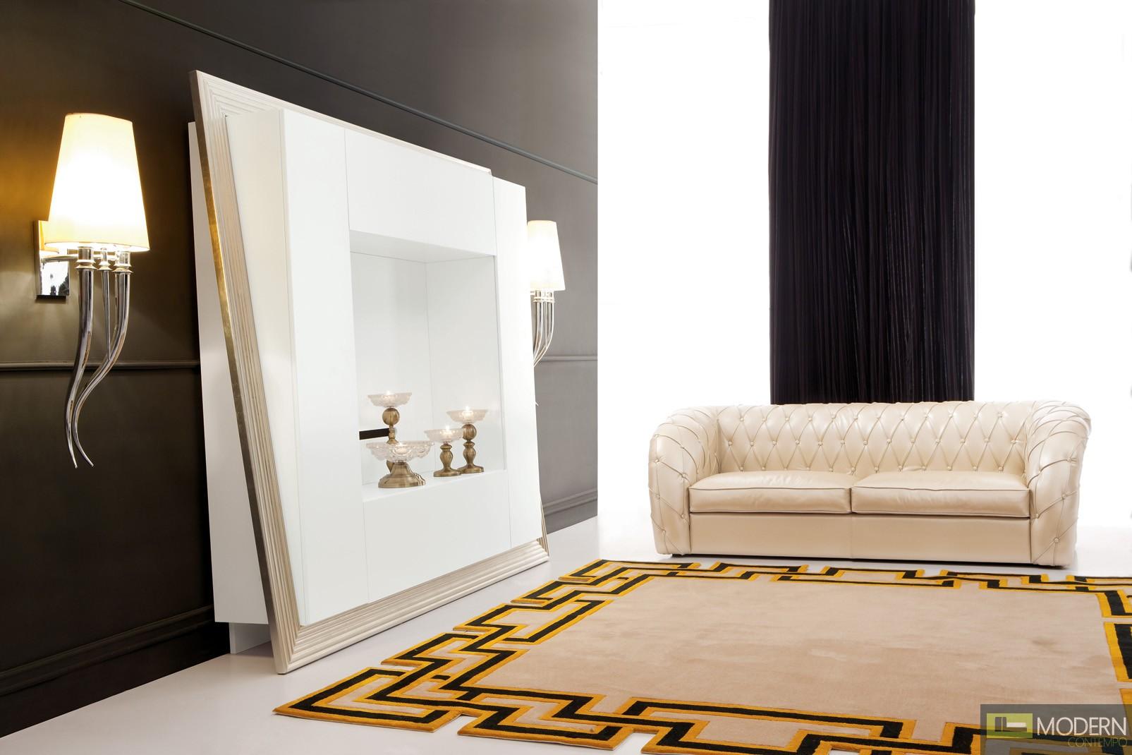 Bucciano Neo Classic Luxury Entertainment Center  Set