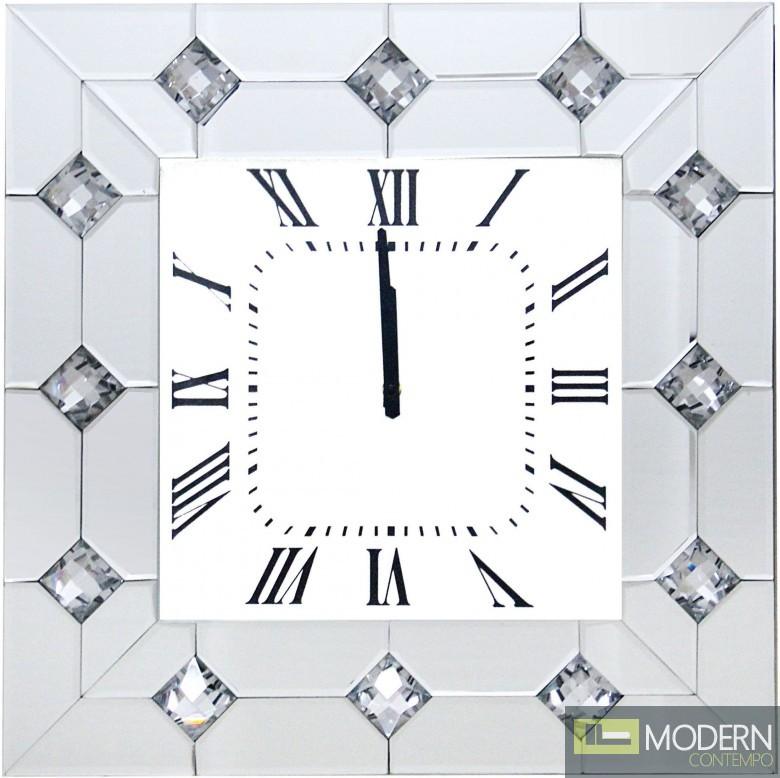 Jolene Mirror Wall Clock