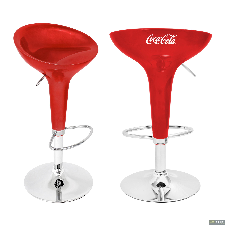 Coca-Cola® Scooper Bar Stool