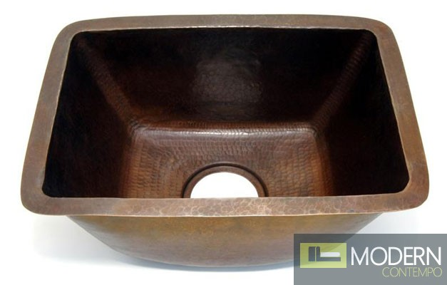 Rectangle Copper Bar Sink