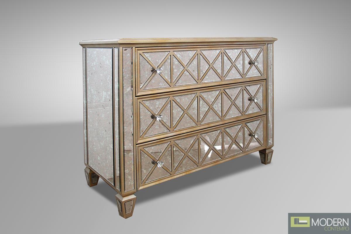 Modrest Harmon - Transitional Mirror Dresser