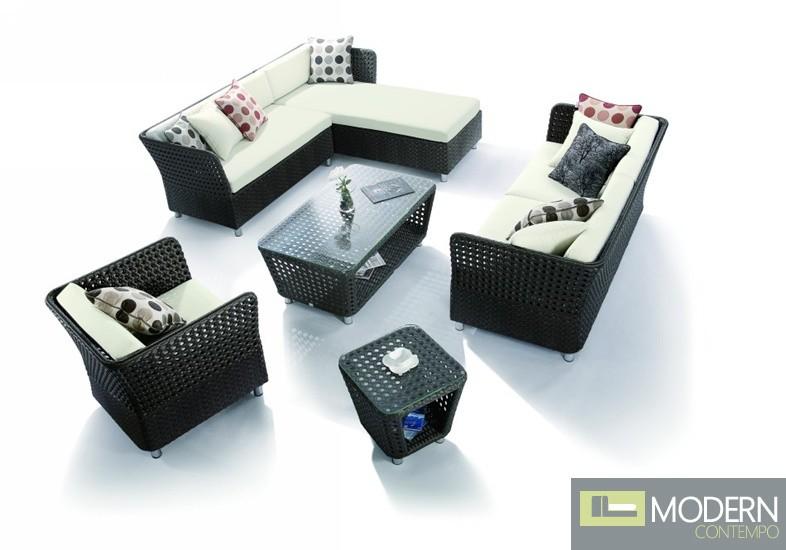 H0808 - 5 Piece Patio Sofa Set