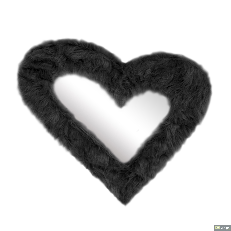 Furr Mirror - Heart
