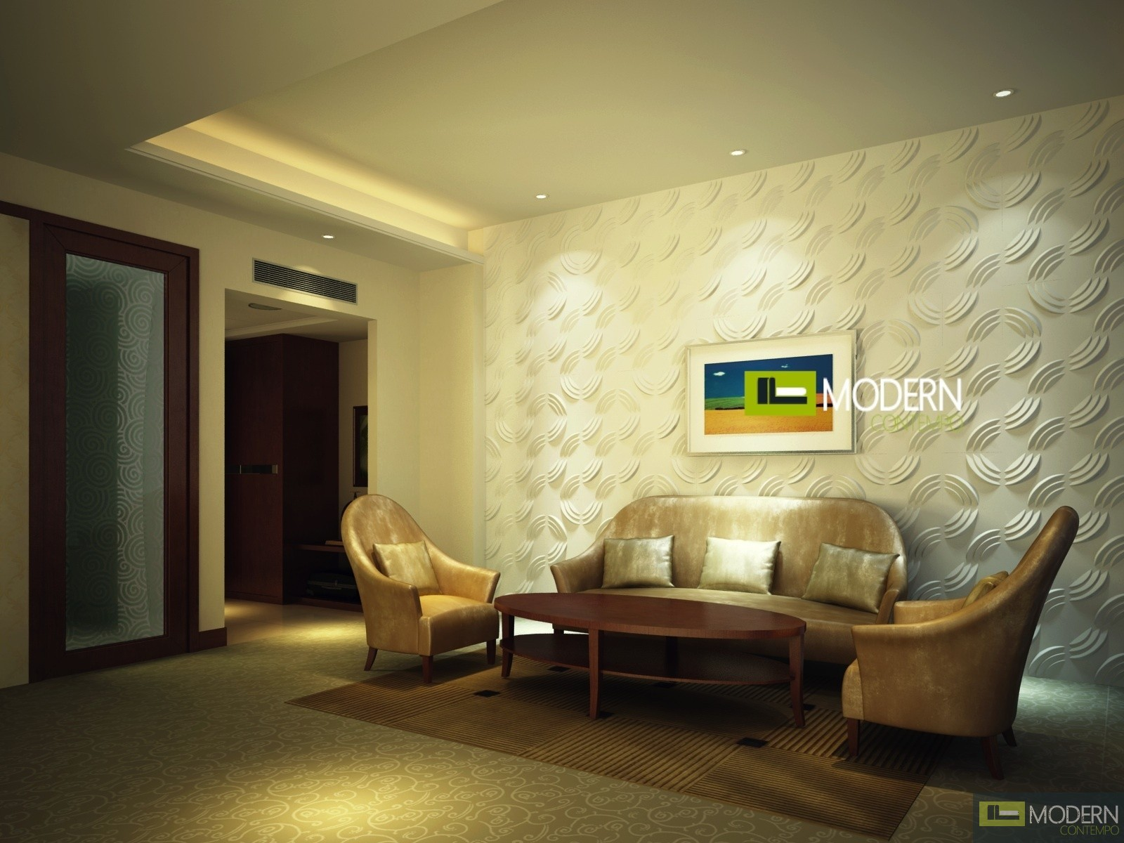 Puzzles 3d Wall Panel