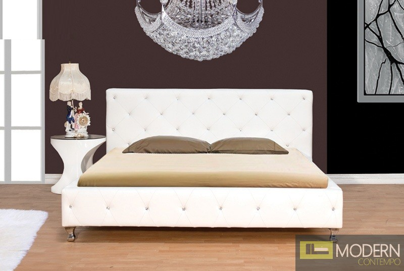 Supreme Bed with Crystals
