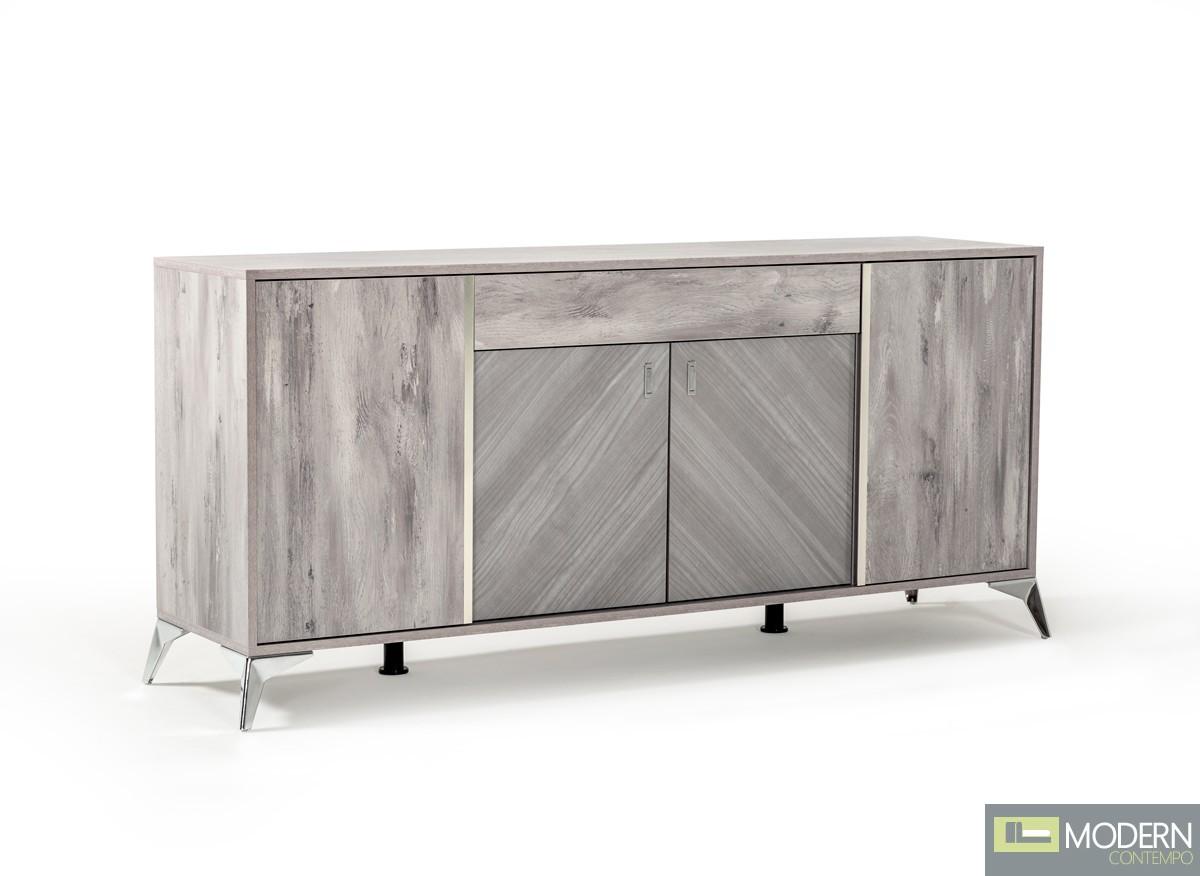 Bijoux Italian Modern Italian Grey Buffet