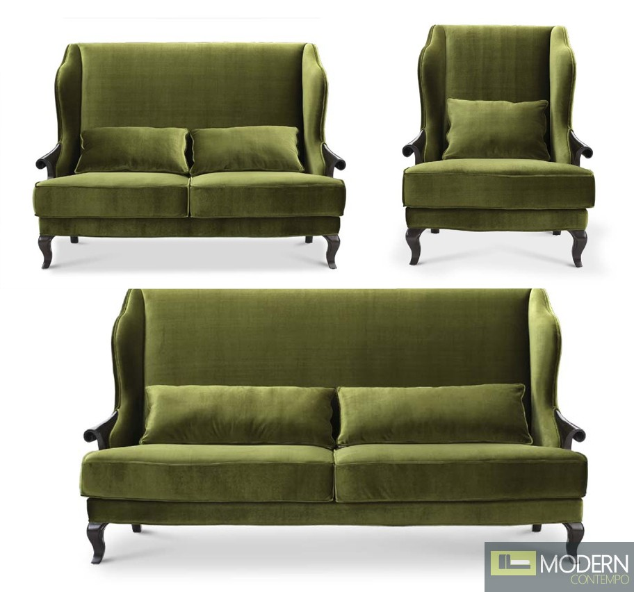 Angelina Neo Classic Luxury Living room Sofa Set