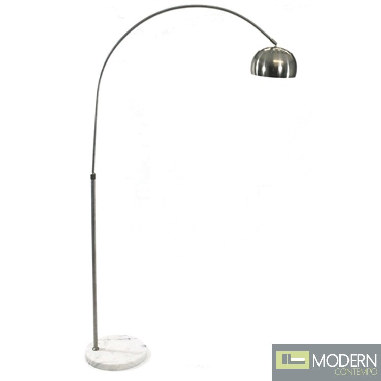 Arco Coster Lamp, White