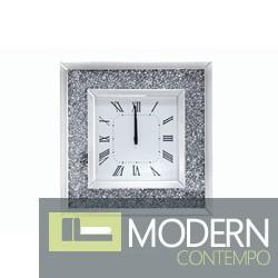 Ottavia Wall clock with Crystals