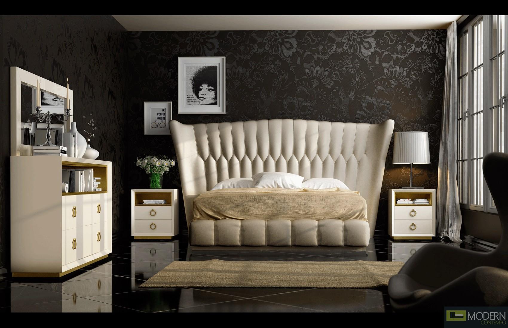 Haven Velvet Bed
