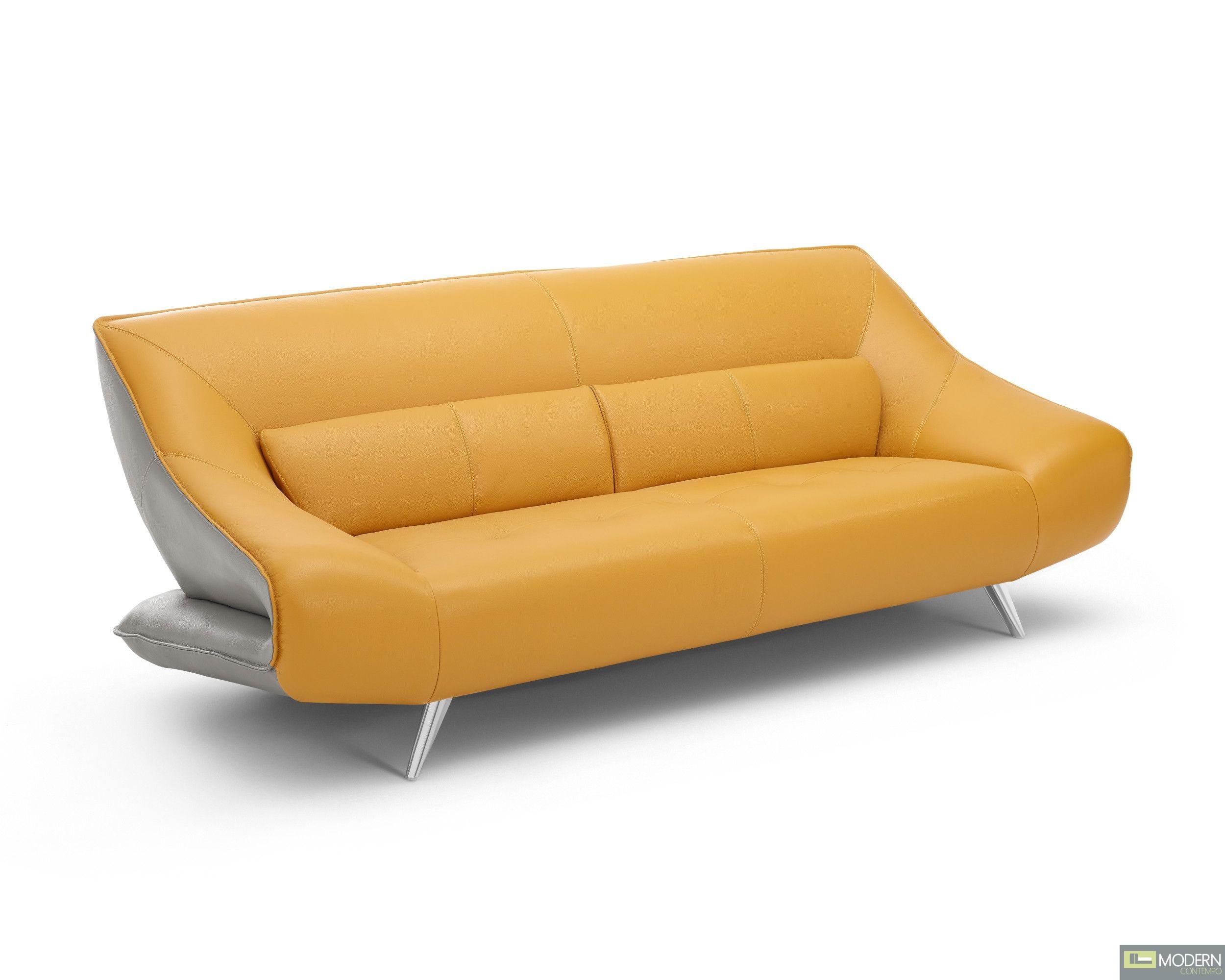 Barcelona Italian Leather Sofa