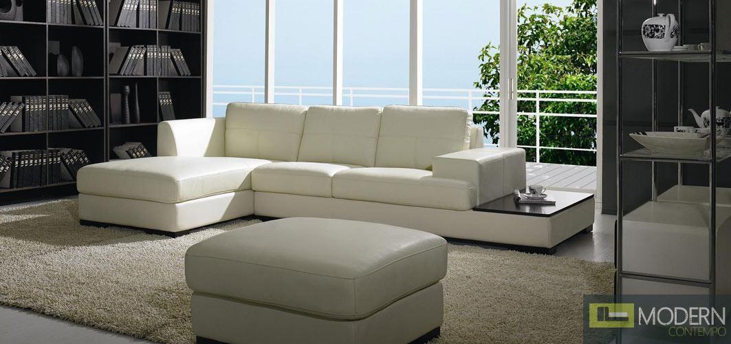 Divani Casa 3893 - Modern Leather Sofa Set
