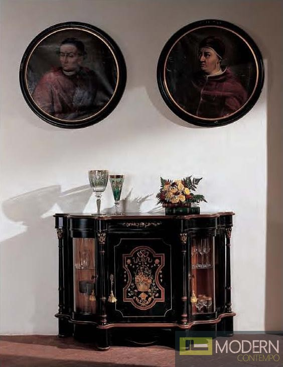 Classic Black Bakokko Buffet/Bar