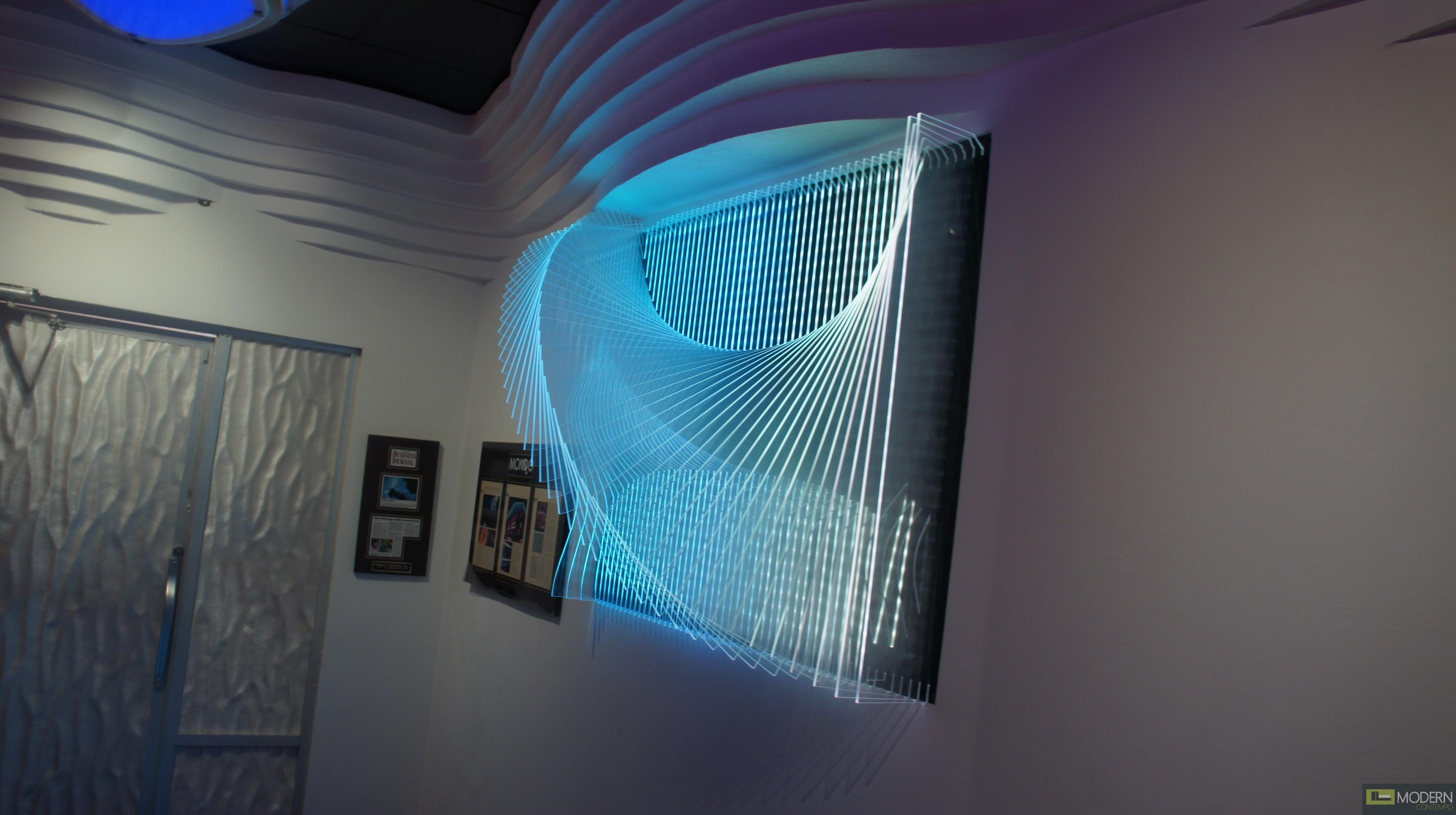 Modern Design Acrylic 3d Wall Panel Led 3dwalldecor Led