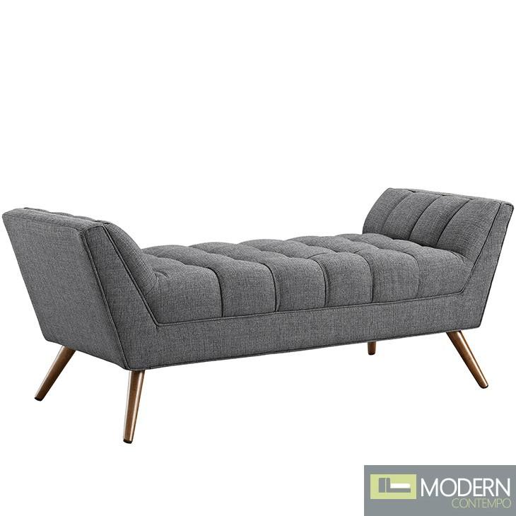 Response Fabric Medium Bench