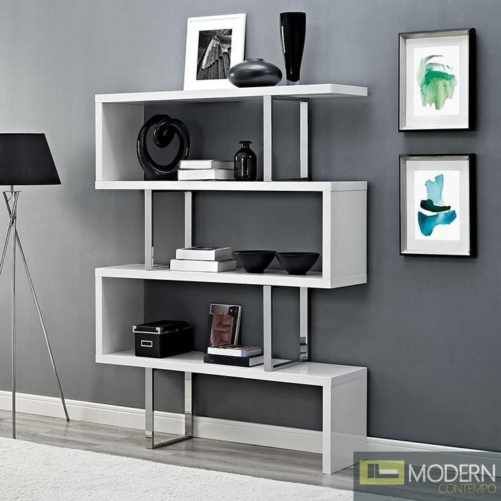 "Meander 66"" Accent Shelves Bookcase"
