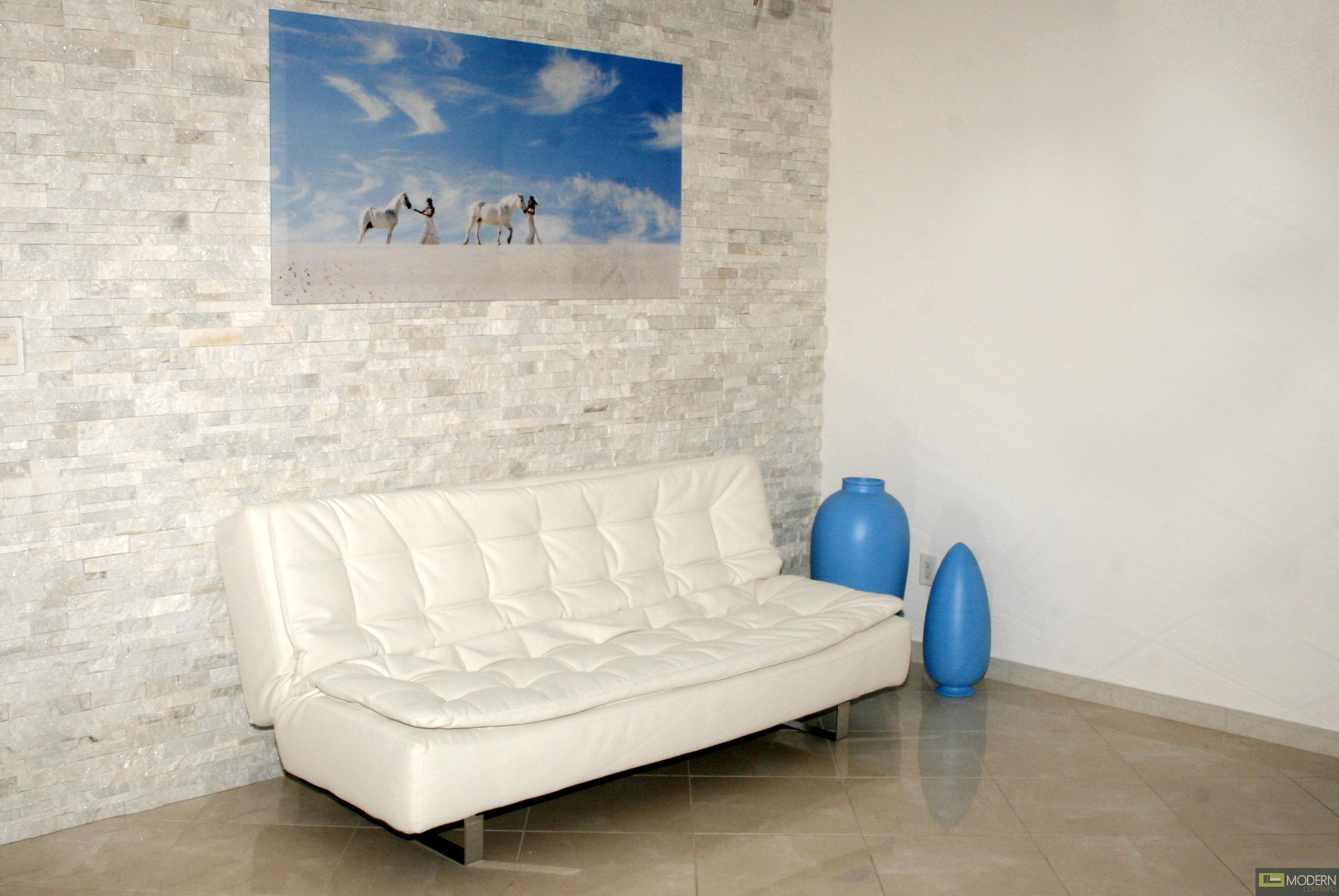 Ella - Modern Leather Sofa Bed