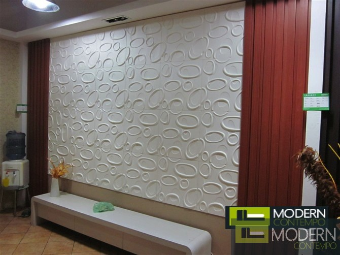 Loop Exterior And Interior Glue On Wall 3d Surface Panel