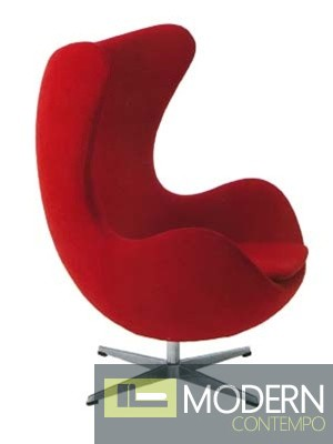 Arne Jacobsen 100% Wool Egg Chair