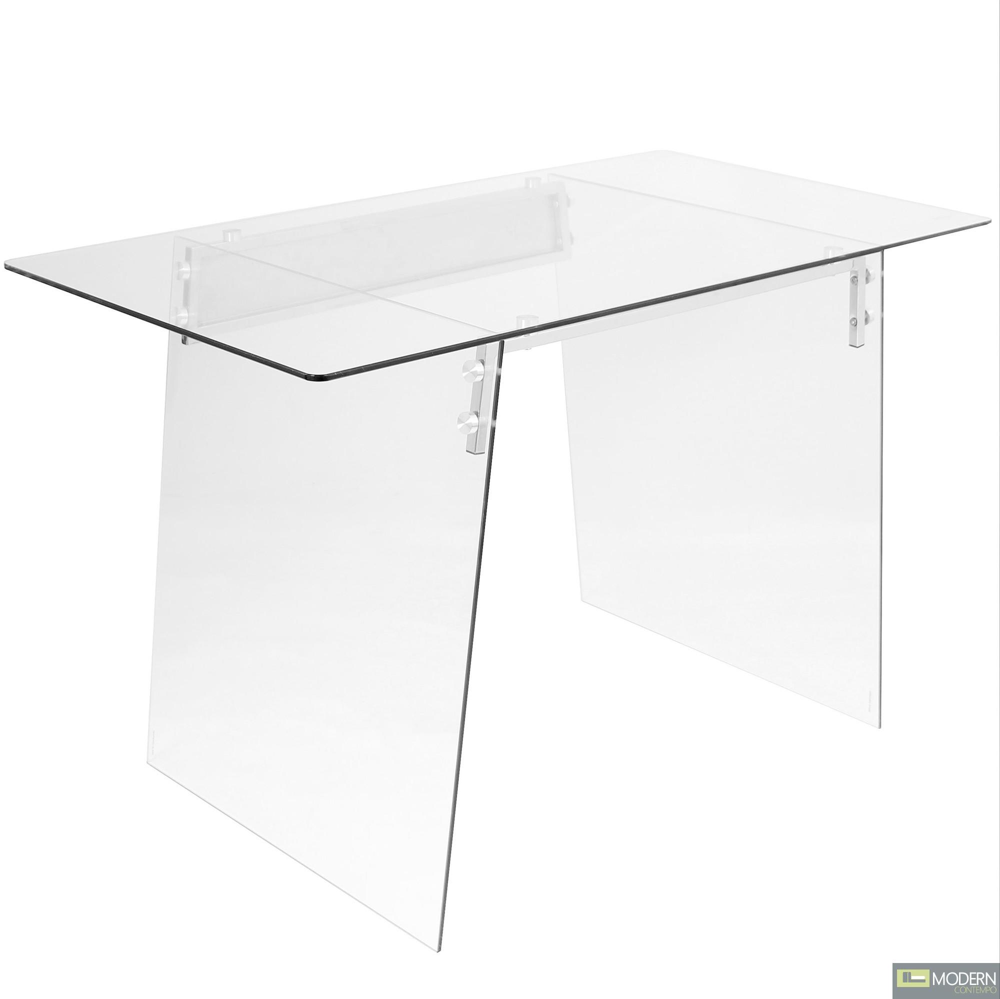 Glassisimo Glass writing Desk