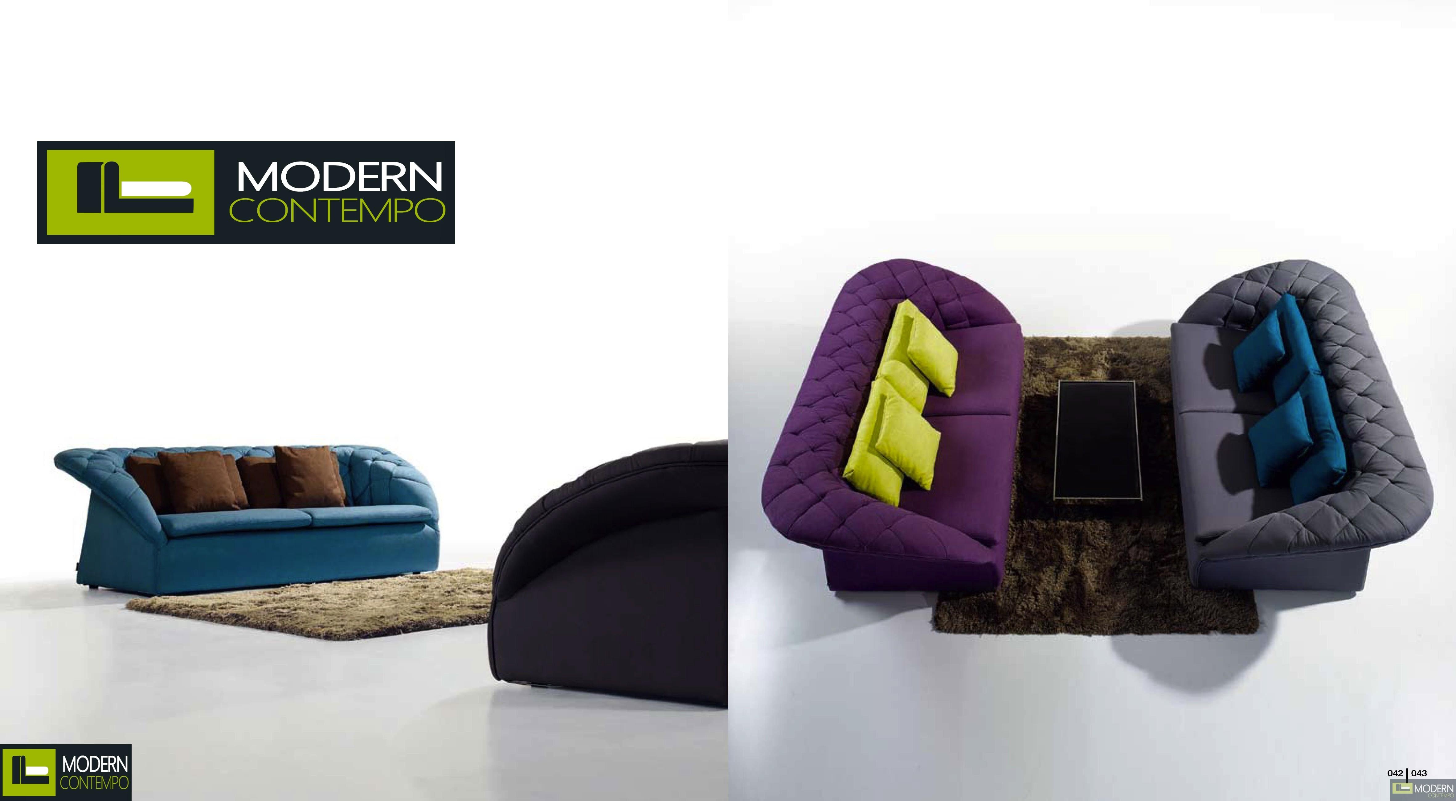 Transitional Tufted Fabric Sofa by ZInotti MCZGPS1053