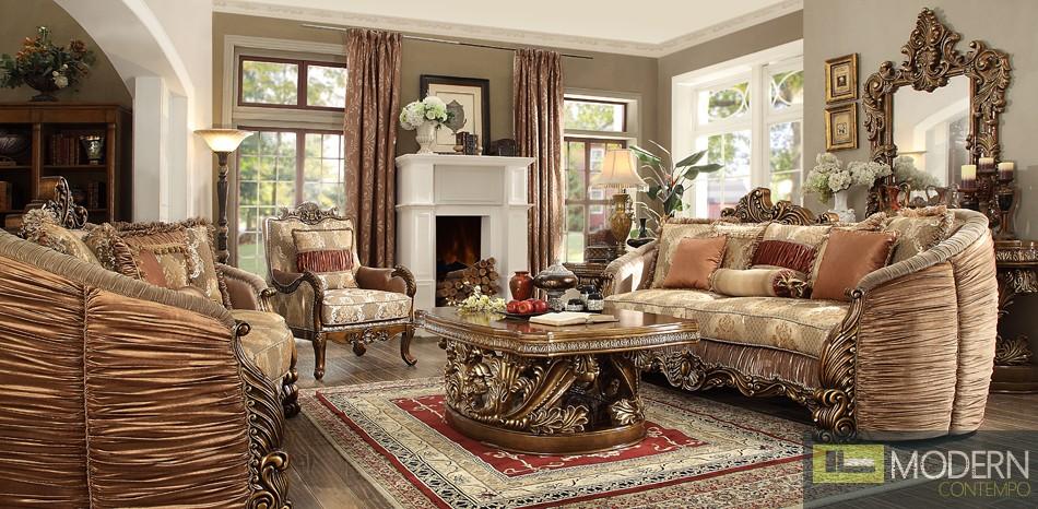 Formal Traditional Living Room Set. MCHD1601