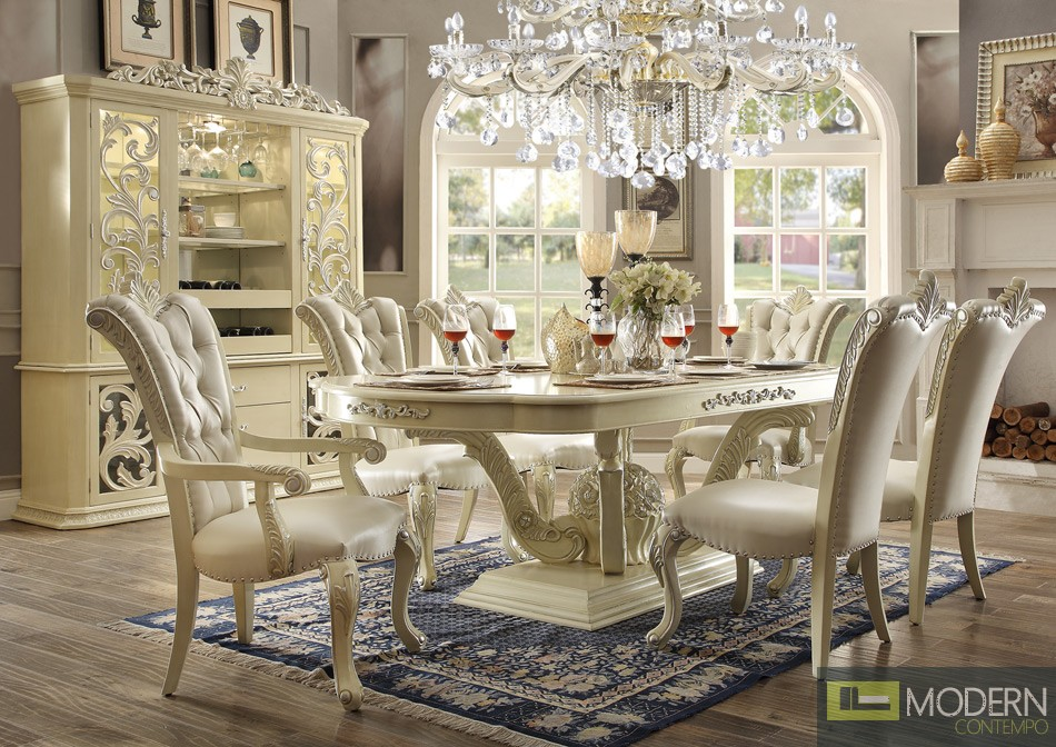Victorian Style Dining table Set MCHD-27