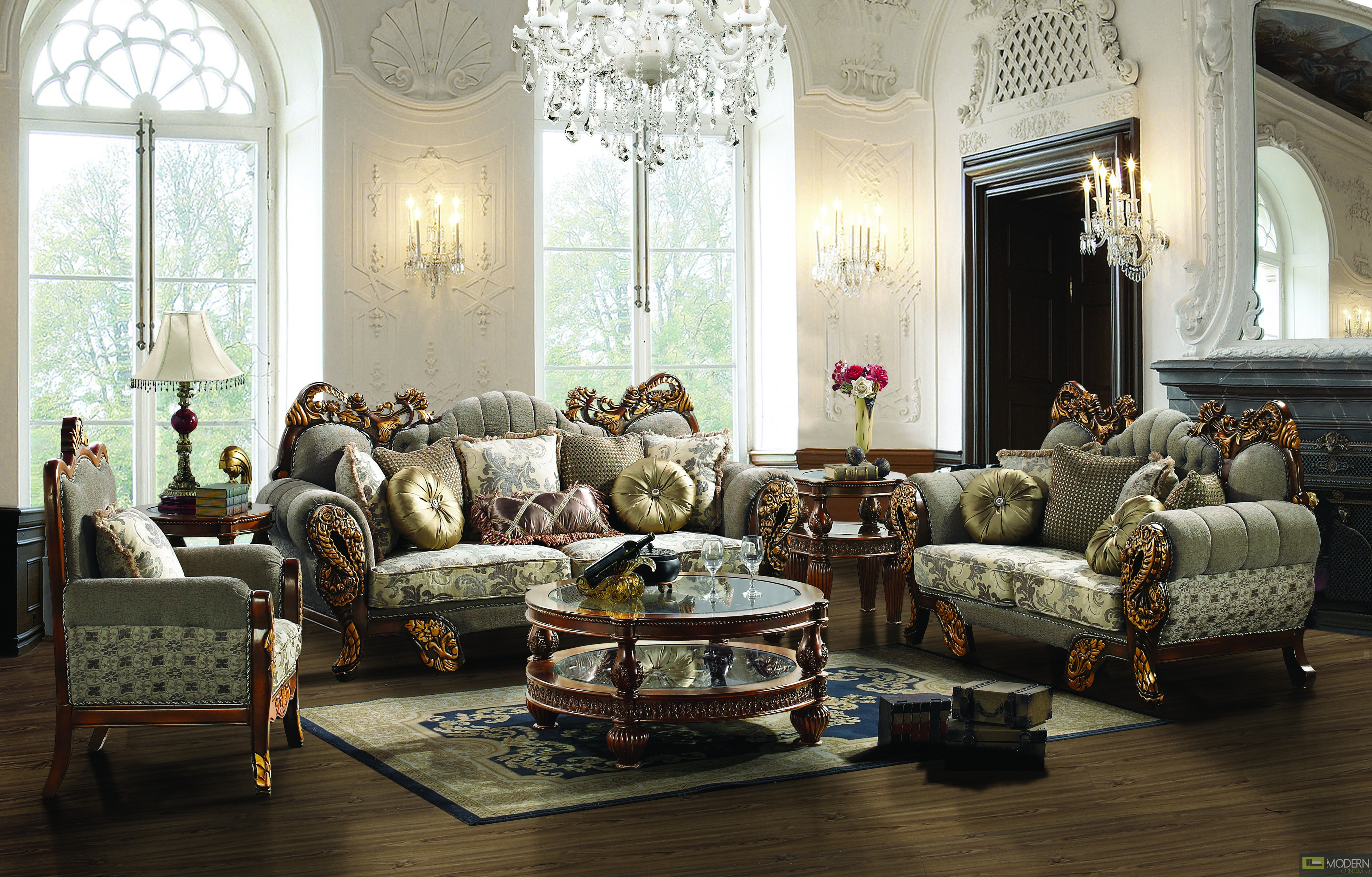 images of traditional living rooms leather amp fabric traditional sofa set formal living room 20281
