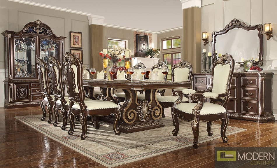 Victorian Style Dining table Set MCHD-8013