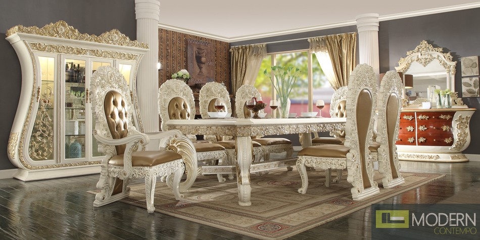 Victorian Style Dining table Set MCHD-8019