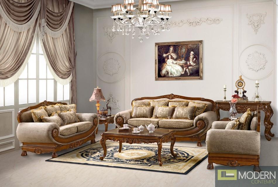 Traditional Sofa Set Formal Living Room Furniture MCHD862