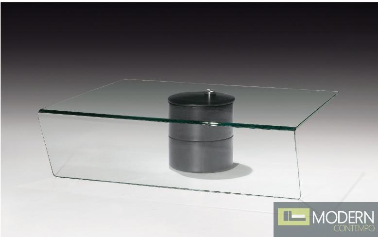 Modrest J055 Modern Adjustable Coffee Table with Storage