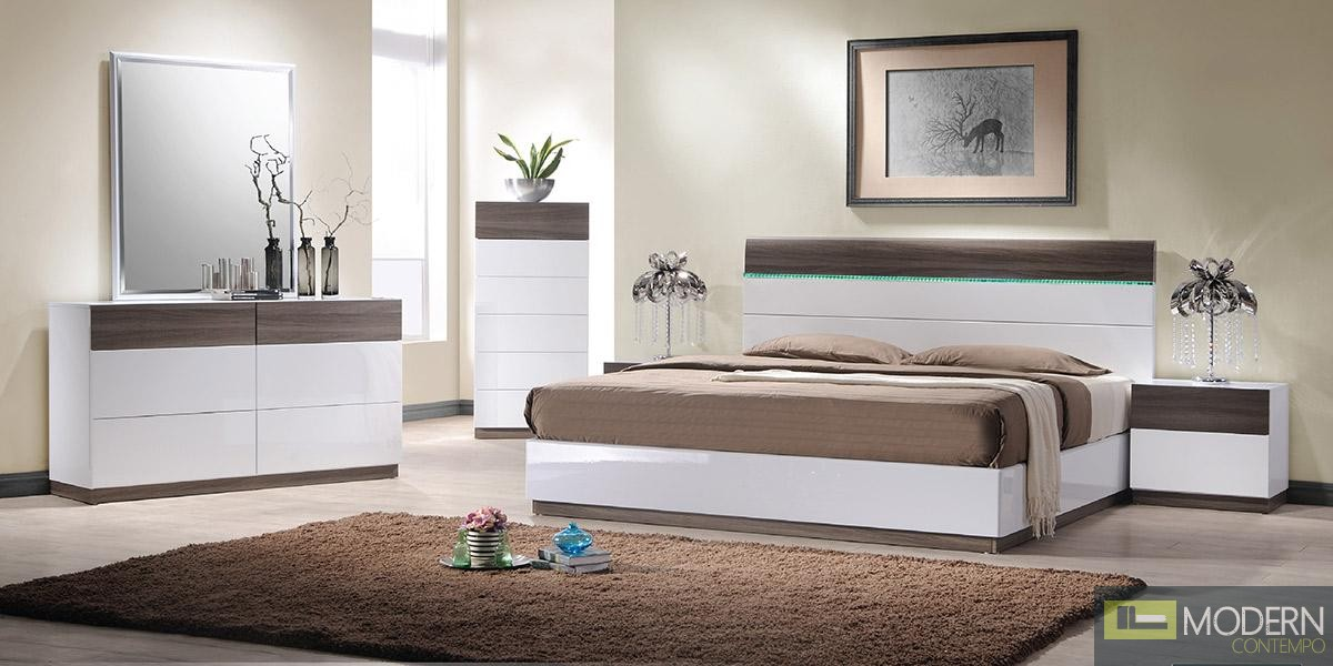 Modrest Soli - Modern King Bedroom Set