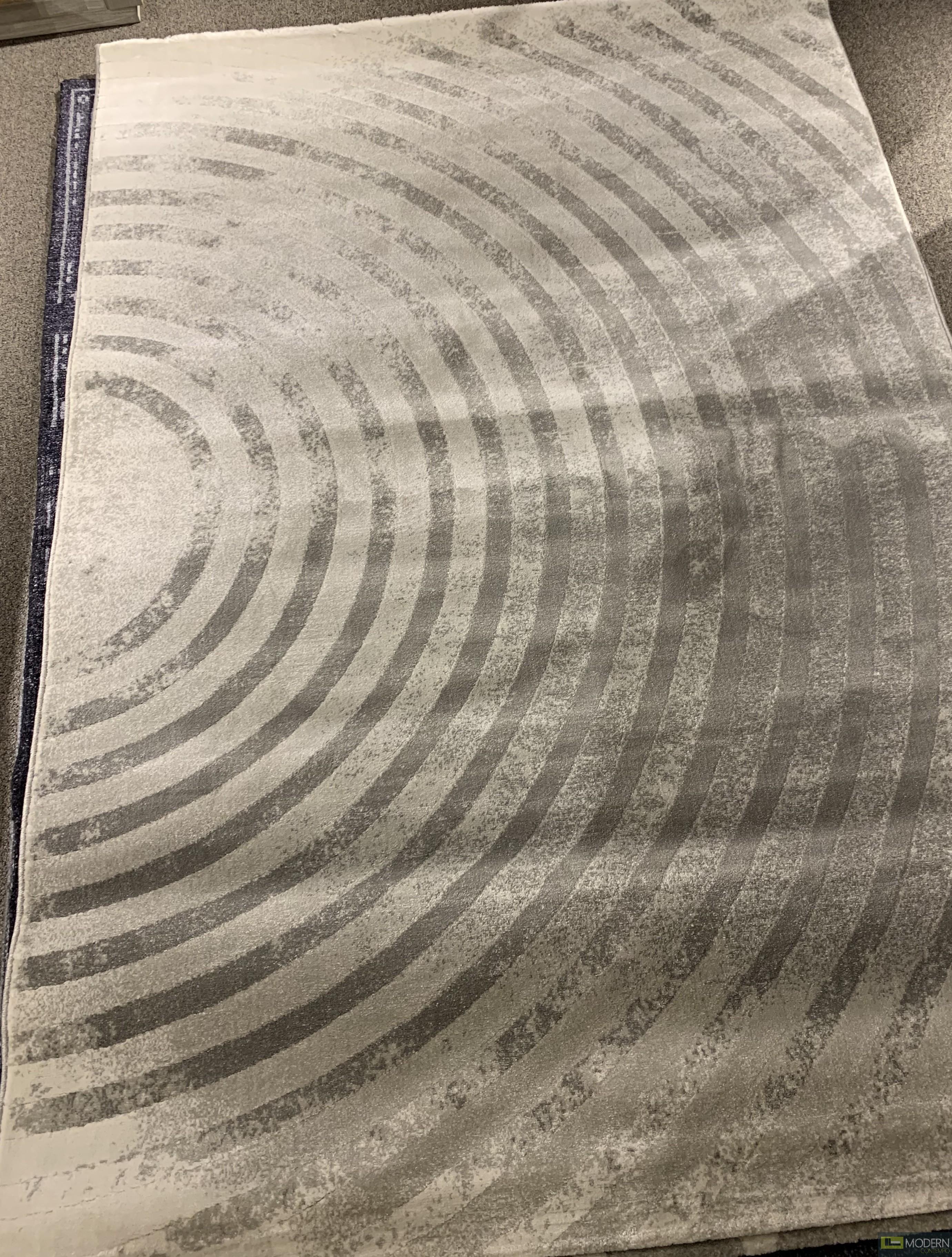 Circle - Grey Rug