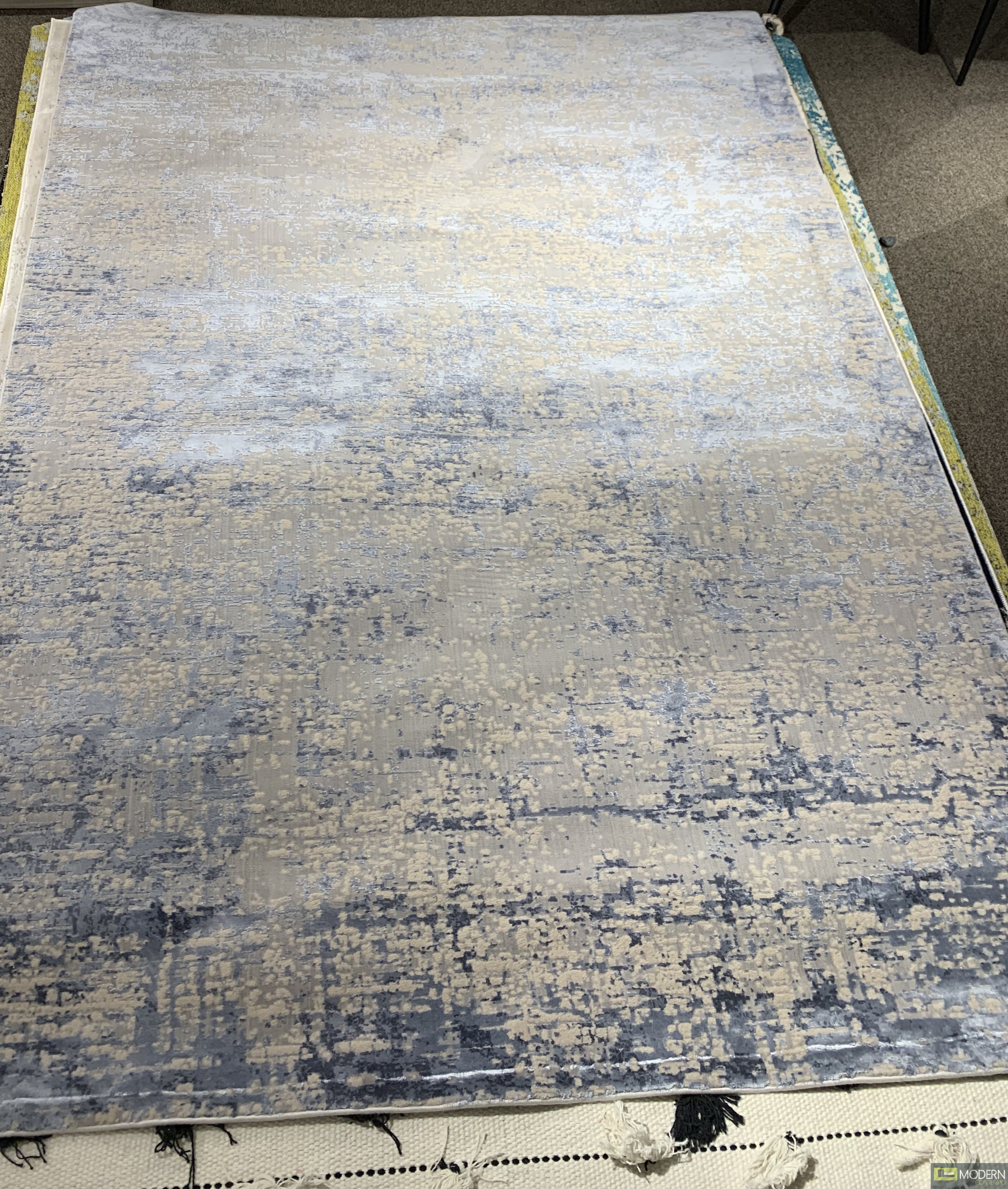 GYPSY Blue and White  Rug