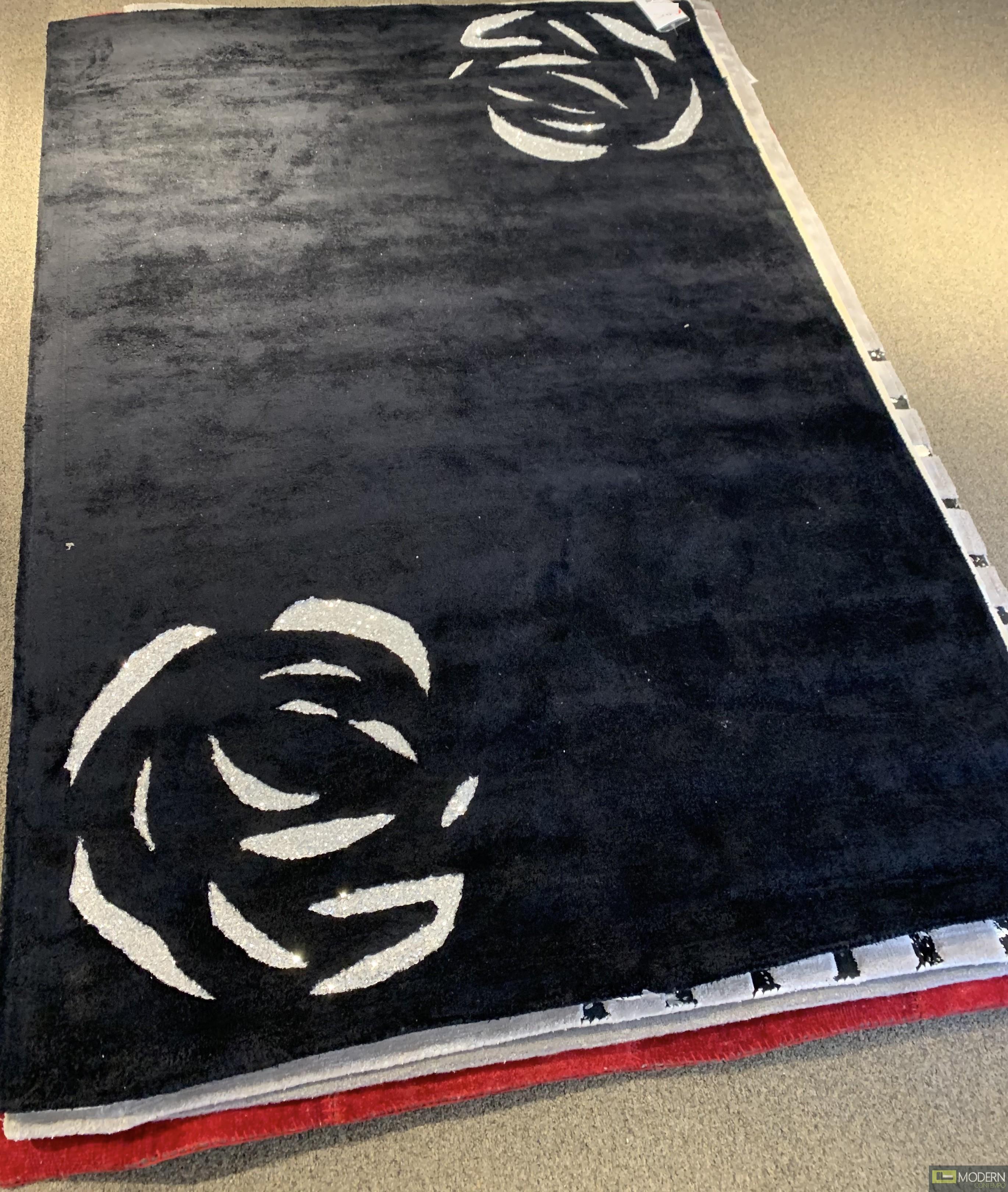 Karat II Black Rug