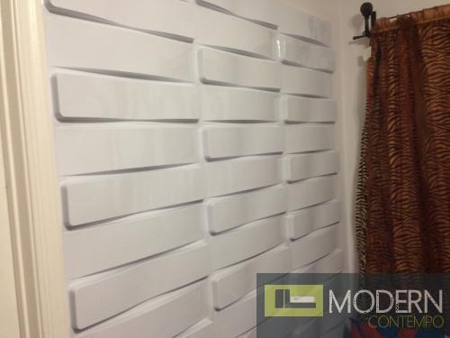Horizon- Textured PVC Glue on Wall 3D tiles 2