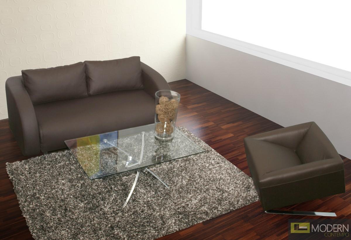 Julia - Modern Glass Coffee Table